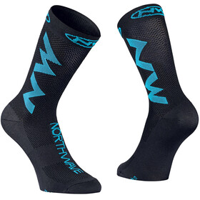 Northwave Extreme Air Socks black/sky blue